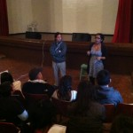 Q&A session with Guatavita's audience