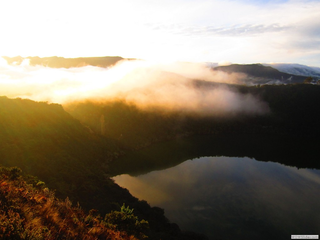 Guatavita sunrise